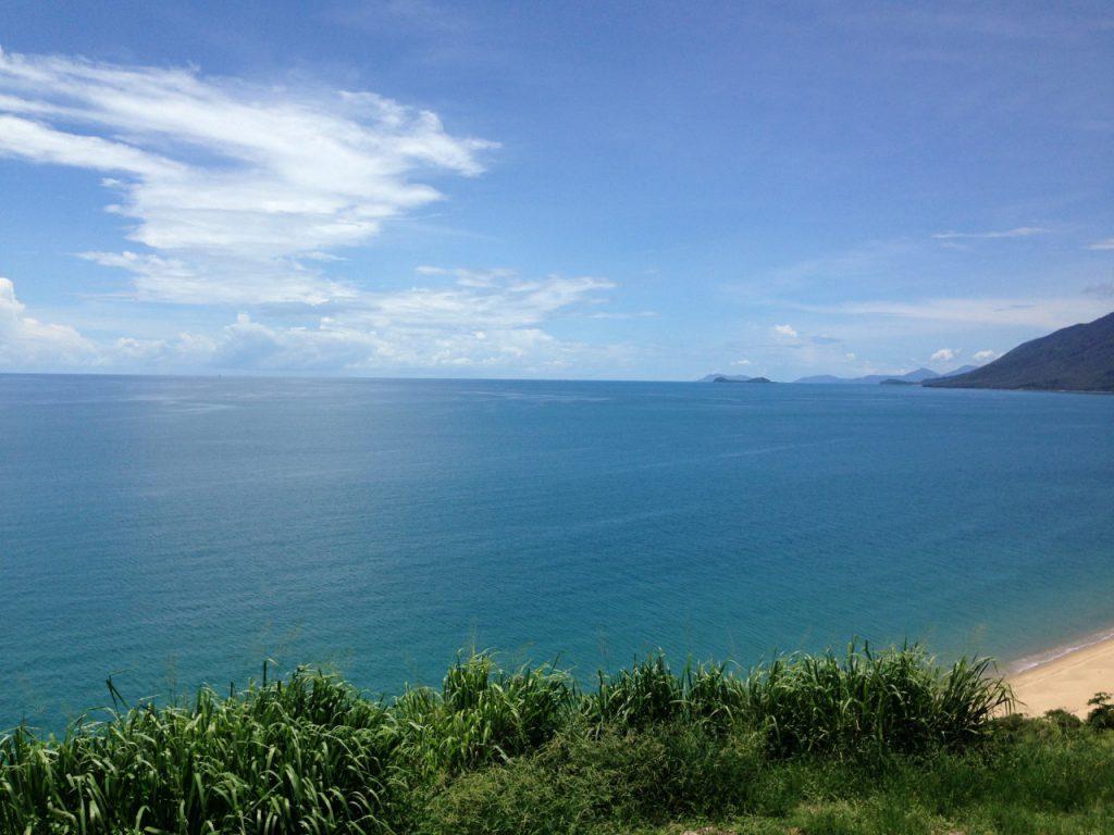 オーストラリアケアンズの美しい海