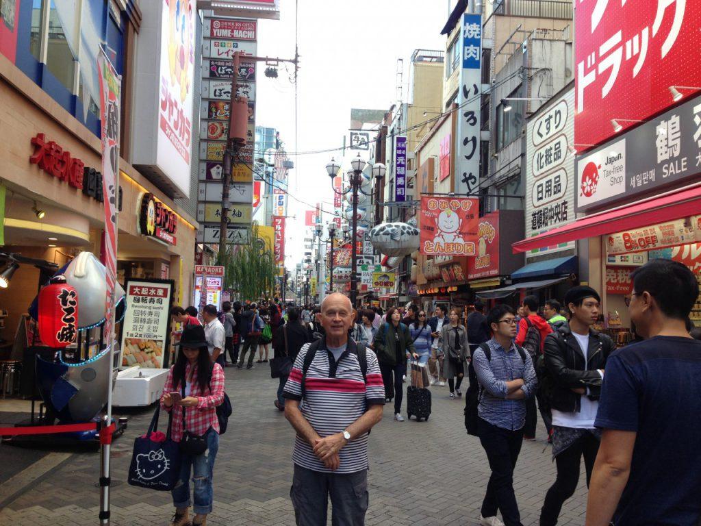 大阪道頓堀でChuckの写真を