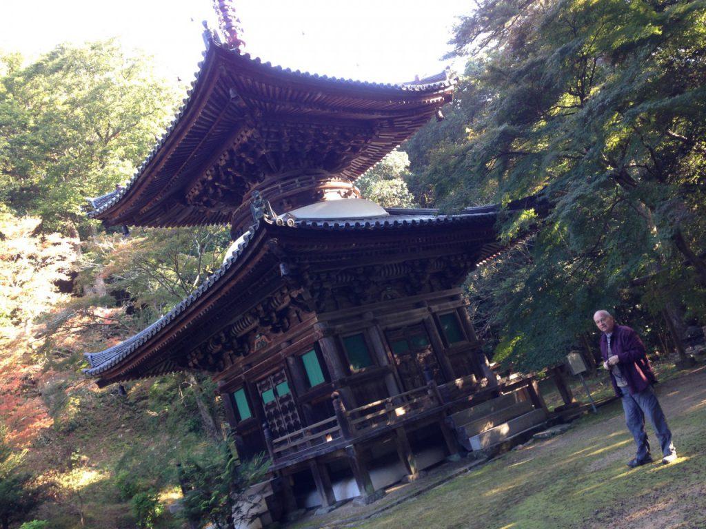 兵庫県三木市にある「伽耶院」というお寺です。