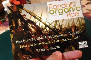 Randall Organic Rice