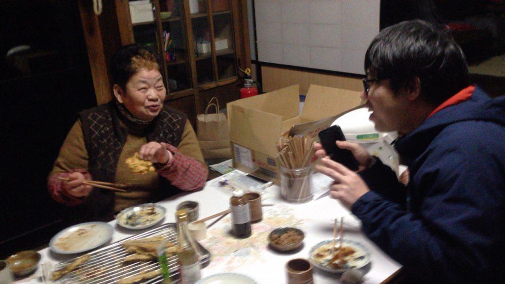 日本海テレビの伊藤さんと眞知子さん