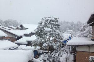安来市大雪