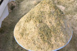 発酵竹パウダーと米ぬかミックス