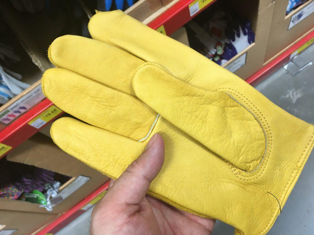 BUNNINGS 手袋