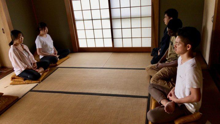 Peace & Nature座禅体験ワークショップ