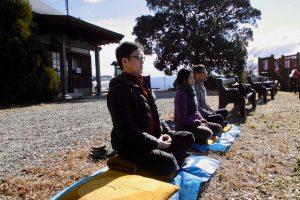 Peace & Natureワークショップ座禅会